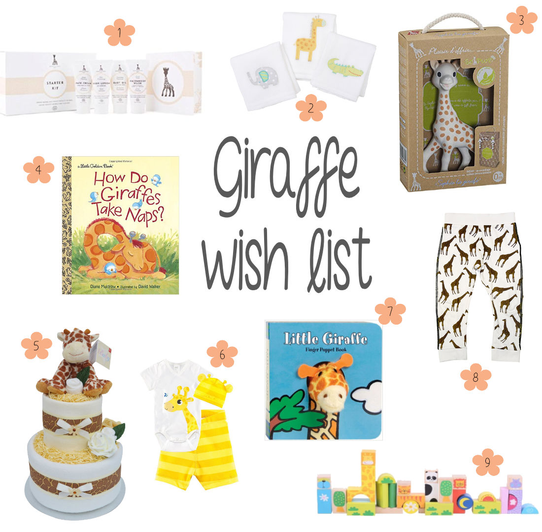 Giraffe Wish List