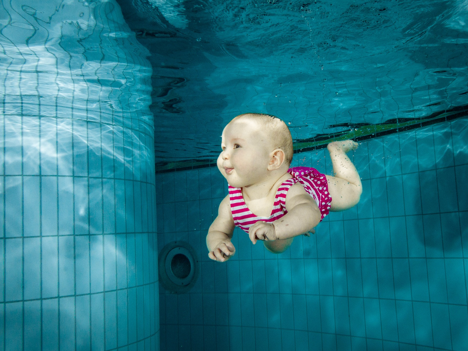 Baby swimming: Things to do with a baby in Manchester