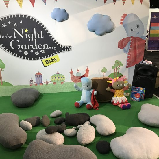 In The Night Garden stand at the Baby & Toddler Show