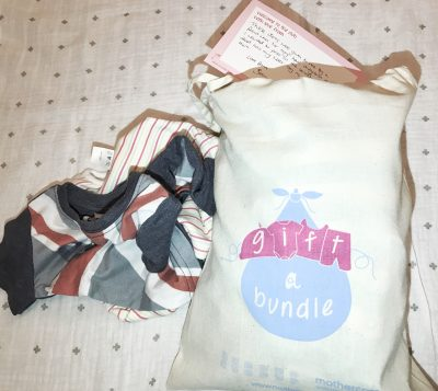 Mothercare #GiftABundle packed with boys clothes