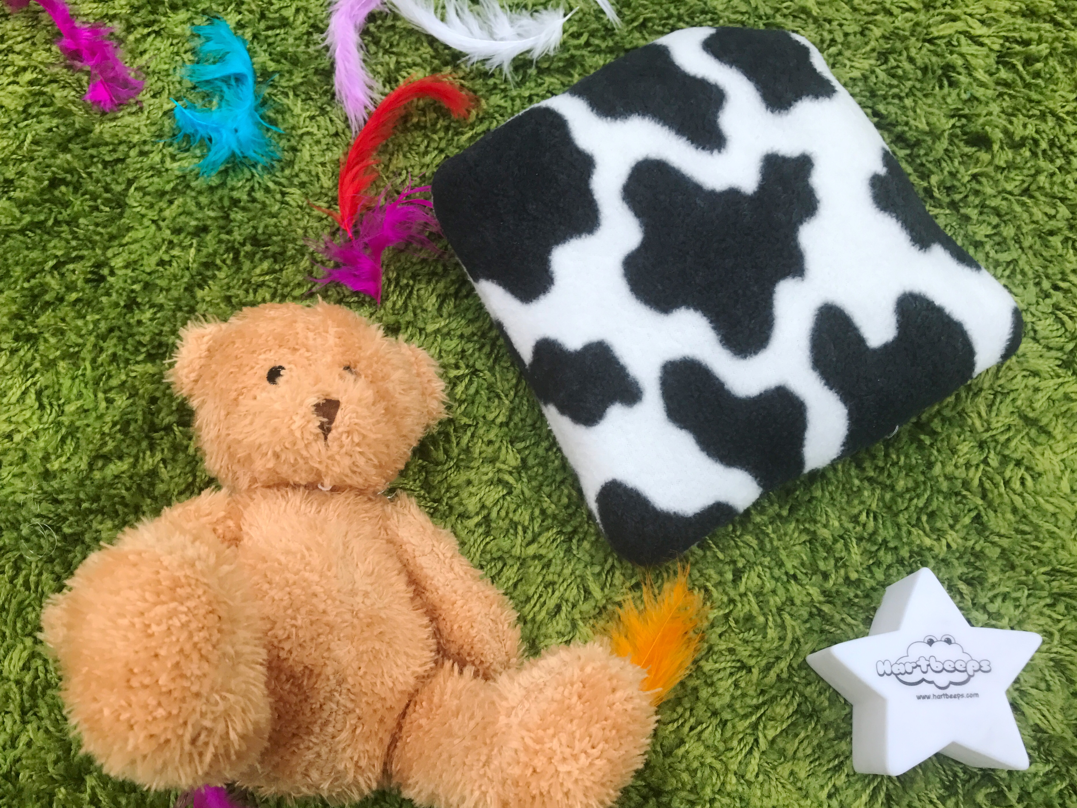 Hartbeeps star light and teddy bear