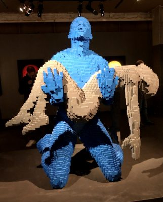 My Boy Lego sculpture