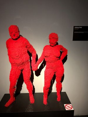 Everlasting Lego sculpture