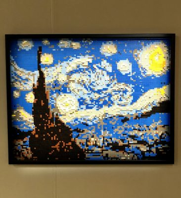 Starry Night in Lego