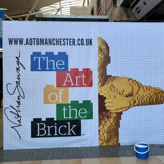 The Art of The Brick Exhibition Manchester